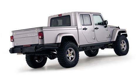 new 4 door jeep truck the brute double cab may be the ultimate off road pickup
