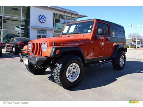 jeep rubicon orange orange jeep wrangler rubicon www imgkid com the image