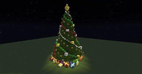 christmas fireplace scene christmas tree minecraft project