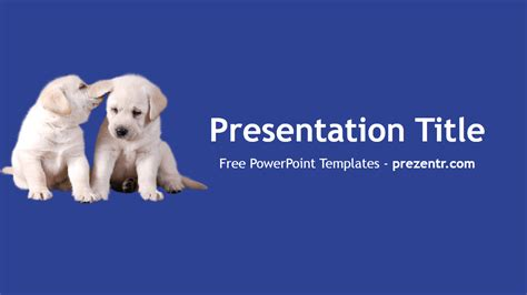 dogs powerpoint template prezentr powerpoint templates