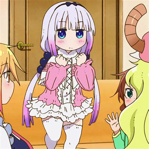 Kanna Memes - kanna jumping miss kobayashi s dragon maid know your meme