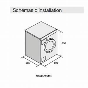 Lave Linge Petite Dimension : dimension machine a laver ~ Melissatoandfro.com Idées de Décoration