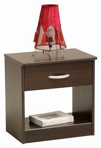 Table De Chevet Wengé : table de chevet wenge but ~ Teatrodelosmanantiales.com Idées de Décoration