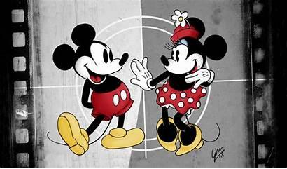 Mickey Minnie Mouse Deviantart Desktop Wallpapers Kissing