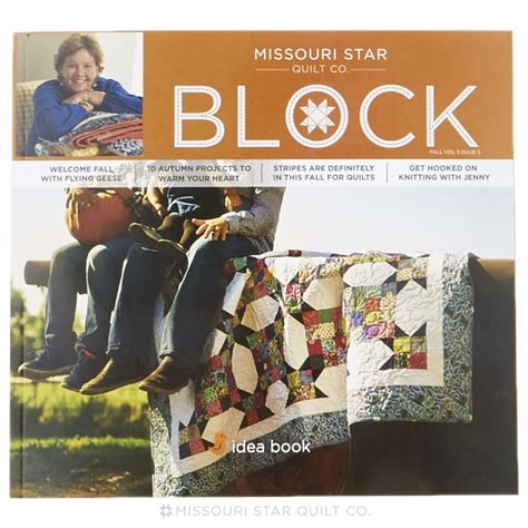 missouri quilt co daily deal block magazine fall 2016 vol 3 issue 5 msqc