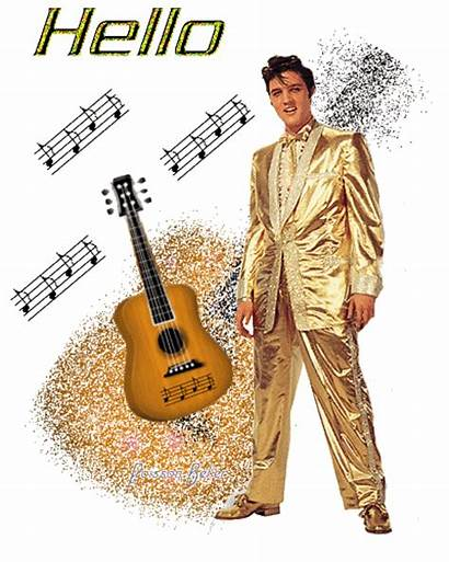Elvis Presley Hello Thank Animated Much Very