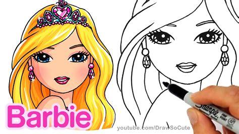 Barbie Drawing At Getdrawings.com
