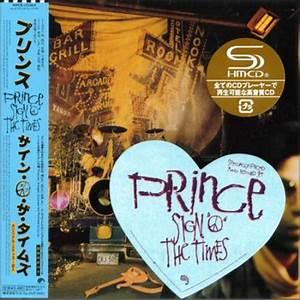 Prince Sign O U0026 39  The Times Japanese Shm Cd  471105