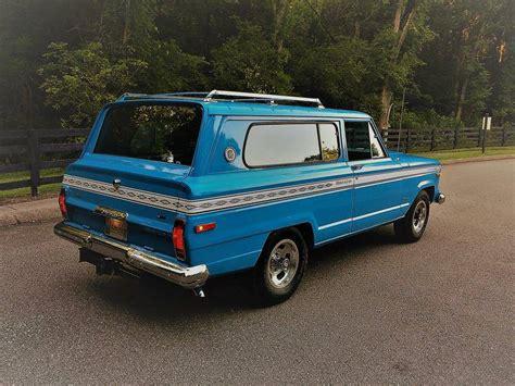 restored jeep wagoneer cherokee   sale