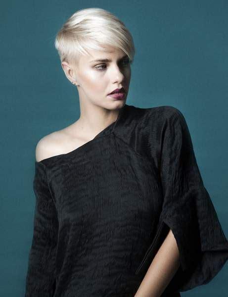 Coupe courte femme tendance 2018 u2013 Coloration des cheveux moderne
