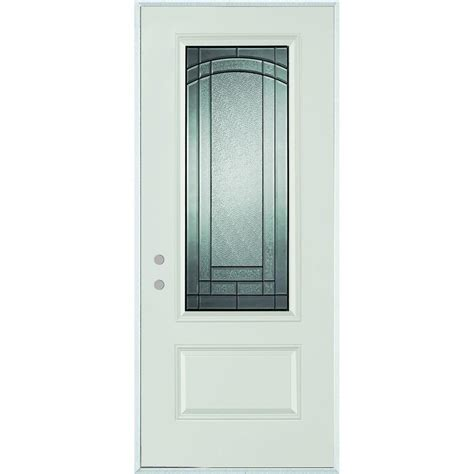 stanley doors 33 375 in x 82 375 in chatham 3 4 lite 1