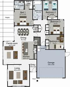 4 Bedroom House Floor Plans Nz |