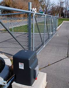 59 Chain Link Gate Opener  Gate Opener  Chain Link Gate