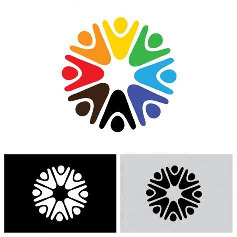 design logo free rounded logo design vector free