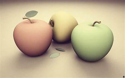 Pastel Pc Apples Wallpapers Mac 3d Deviantart