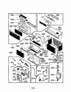 Ge Air Conditioner Model   Aez05lvq2 Wiring Diagram