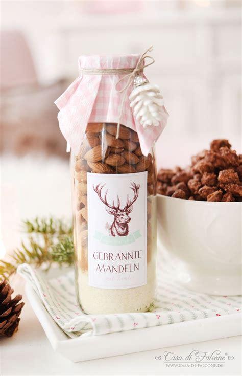 Geschenke Aus Der Kuche Weihnachten by Gebrannte Mandeln Mix In Der Flasche Rezept Geschenke