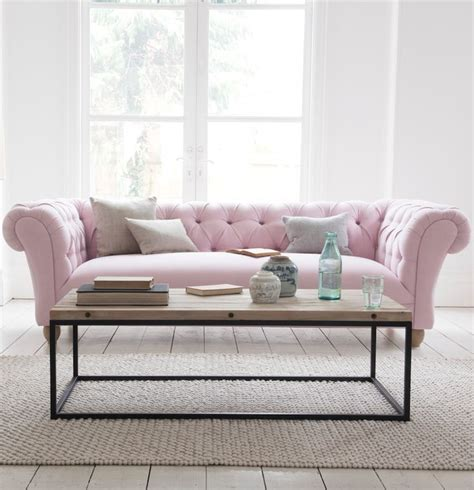 pink loveseats 25 best ideas about pink sofa on blush grey