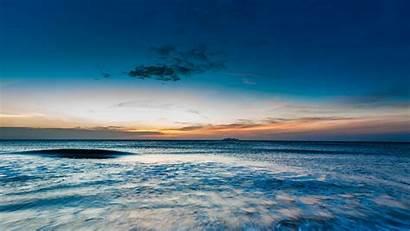 Ocean Sea Horizon Surf Sunset Sky Shore