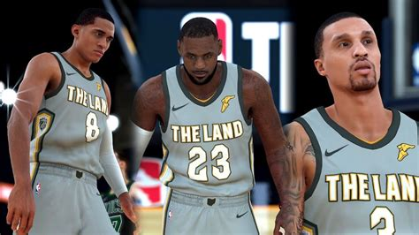 NBA 2k18 - New Look Cavaliers vs Boston Celtics | Cavs ...