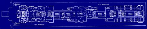Titanic Boat Deck Map by Labeled Titanic Deck Plans
