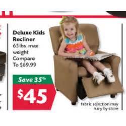 deluxe recliner at big lots black friday 2011