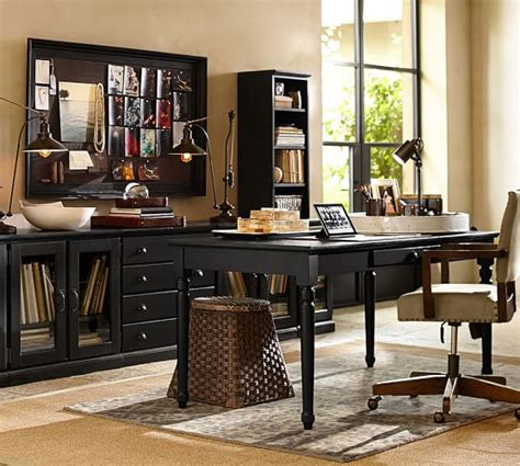 printer s writing desk large pottery barn