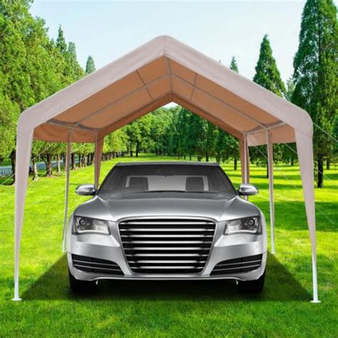 car carport waterproof canopy steel portable shelter
