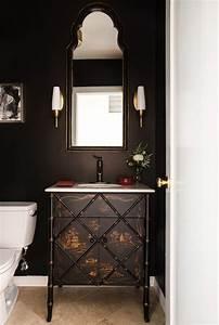 Transitional powder room vanity powder room transitional