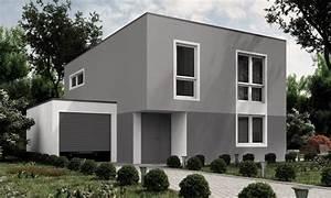 Welche Farbe Für Außenfassade : moderne fassadengestaltung in grau kolorat ~ Sanjose-hotels-ca.com Haus und Dekorationen