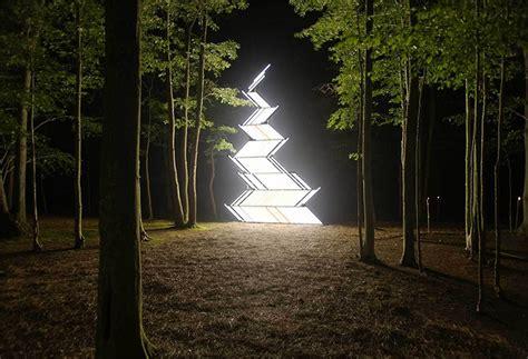 fluorescent light installations  yochai matos colossal