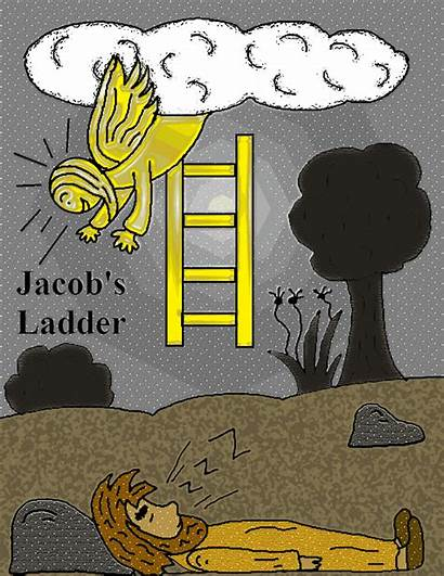 Jacob Ladder Bible Story Coloring Pages Sunday