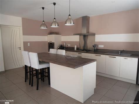 cuisine salon décoration d 39 un salon séjour cuisine entrée tendances et harmonie côté maison