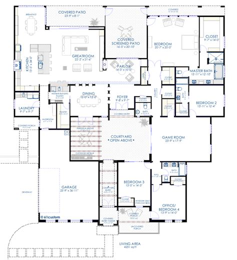 home floor plans with photos house plans and design contemporary house plans with courtyard