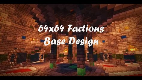 64x64 Factions Base Tour (minecraft Faction Interior