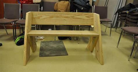 leopold bench workshop  mounds state park bench