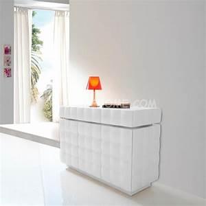 Bahut Blanc Laqué Design : buffet bahut 3p design alfeo zd1 bah d ~ Teatrodelosmanantiales.com Idées de Décoration