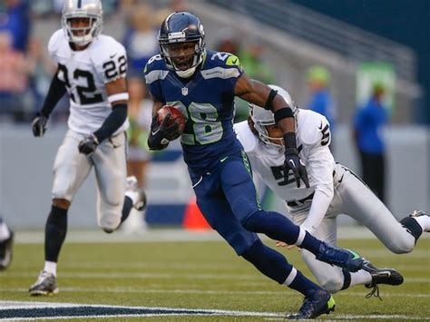 result seattle seahawks beat st louis rams  clinch nfc