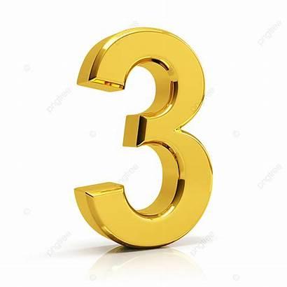 Number Gold Premium 3d Numbers Psd Vectors