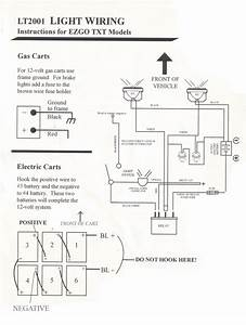 2002 Ez Go Wiring Diagram Lights With Text