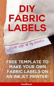 best 25 fabric labels ideas on pinterest personalized With diy label printing