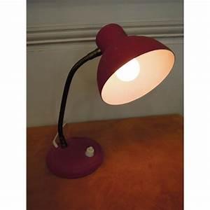 Petite Lampe De Chevet : petite lampe de chevet ou veilleuse en t le rouge des ann es 50 ~ Teatrodelosmanantiales.com Idées de Décoration