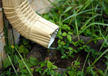 improve downspout drainage networx