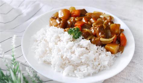 rice cuisine resep japanese curry rice recipe heytheresia