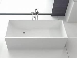 Freistehende Badewanne Eckig : firenze freistehende mineralguss badewanne wei matt oder gl nzend 170x72x55 eckig modern ~ Sanjose-hotels-ca.com Haus und Dekorationen