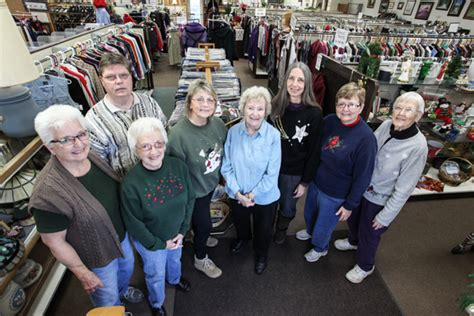 clothing closet receives sells donates the woodstock