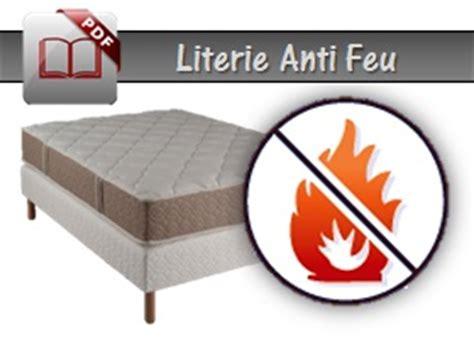 Matelas Anti Feu by Literie Anti Feu Literies Et Sommiers Anti Feux M1