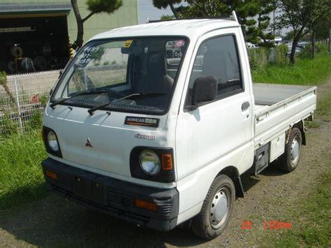 mitsubishi minicab mitsubishi minicab truck 4wd 1991 used for sale