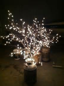 25 unique lighted branches ideas on rustic