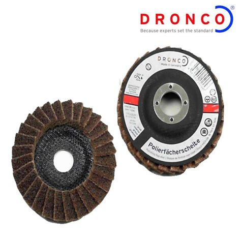 Dronco 115mm Polishing Disc For Angle Grinders Stainless
